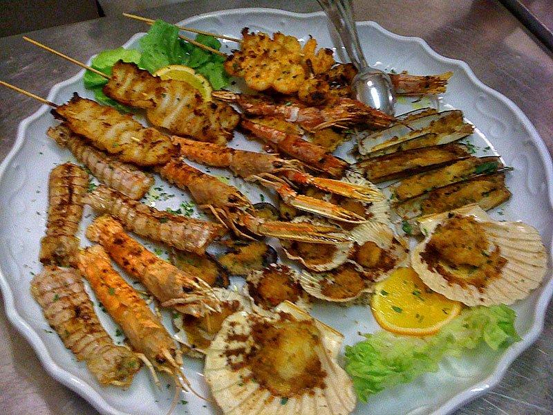 antipasti pesce economici